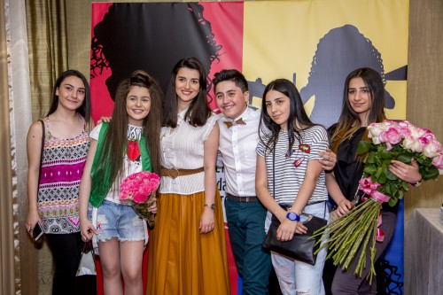 Avet, Gohar, Dalita, Vladimir Arzumanyan and others on the presentation of Betty's video clip «New G